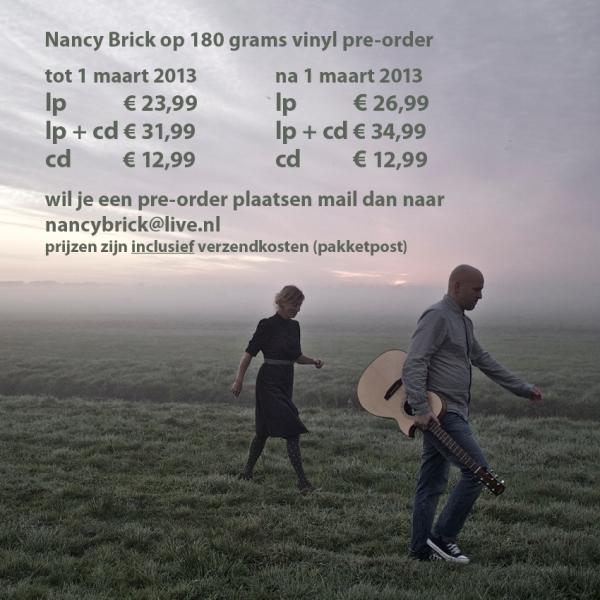 Nancy Brick pre-order