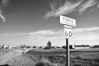 Ponoka Sign